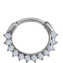 Septum Click Ring - Crystals