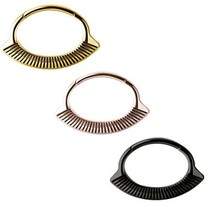 Gold Plated Septum/Daith Click Ring