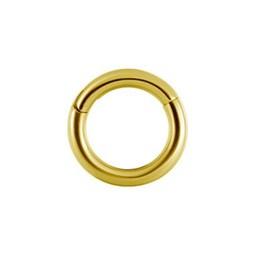 Vergulde Segment Ring - Basic (1.2mm)