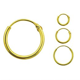 Gold Plated Silver Earring