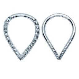 Silver Ear Piercing