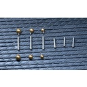 Surgical Steel Barbell - Set
