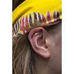 Gold Plated Barbell Set - Feather