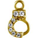 Segment Ring Charm - Handcuff