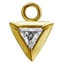 Segment Ring Charm - Triangle