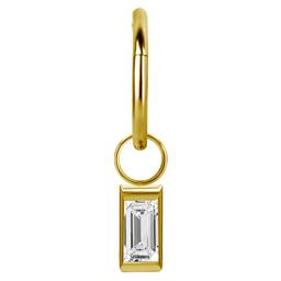Segment Ring Hanger - Baguette