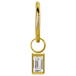 Segment Ring Hanger - Baguette Swarovski