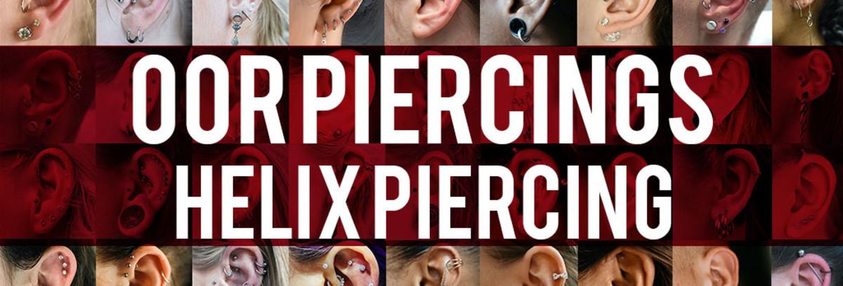 Oor piercings - Helix piercing