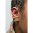 18K Gold  Ear Piercing   -  Marquise Swarovski Zirconia