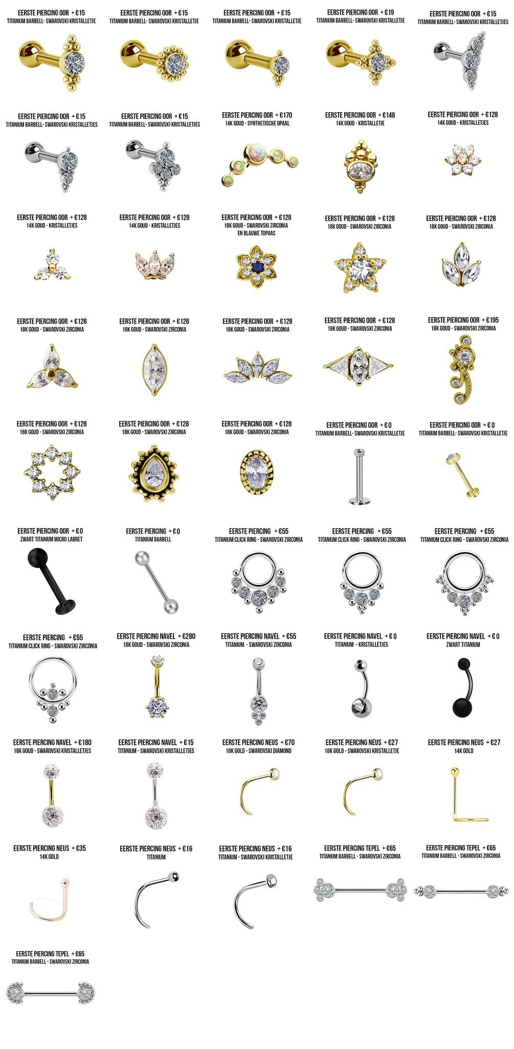 galerie first piercings