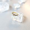 Piercing  Ring - Rose Cut Cubic Zirconia
