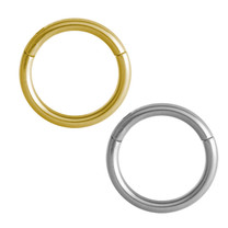 Titanium Hinged Segment Ring - Basic (1,2mm)