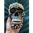 Swarovski Pearl Skull
