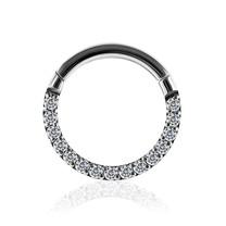 Titanium Ring - Swarovski Stones