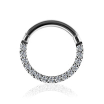 Titanium Ring - Swarovski Kristalletjes