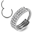 Click Ring - Swarovski Kristalletjes