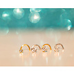 Surgical Steel Nose Stud - Round Stone