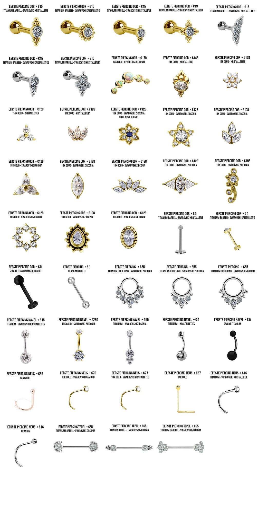 piercings gallery