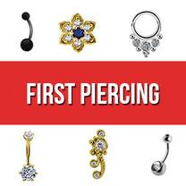 Eerste Titanium & Goud Steriele Piercings