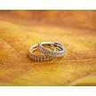 Click Ring - Swarovski Stones