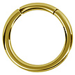 18K Gold Segment Ring - Basic  (0.8mm)