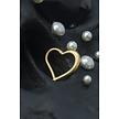 14 Karat Gold  Segment Ring - Heart