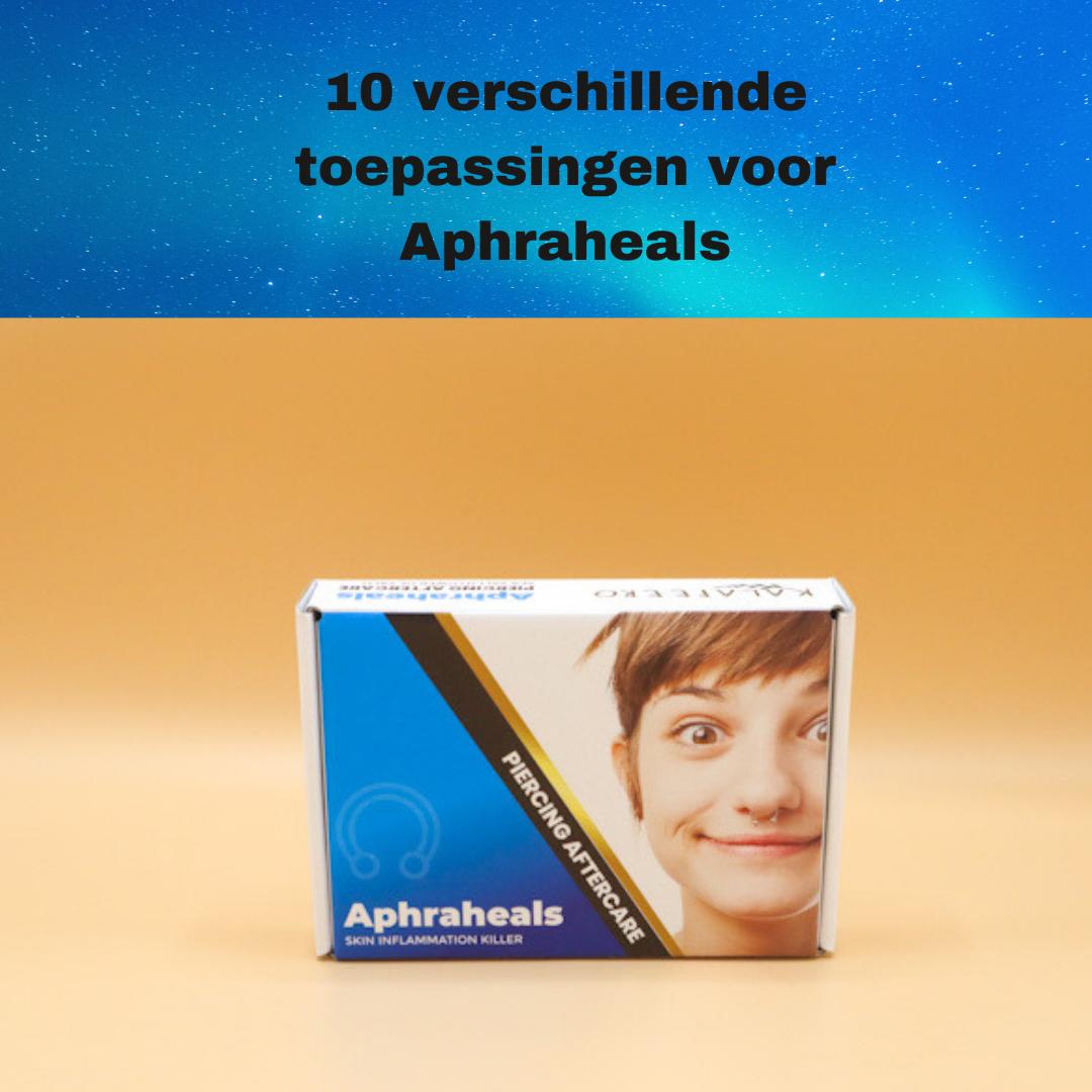 10 verschillende toepassingen voor Aphraheals