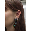 Surgical Steel Ear Piercing - Marquise Cluster