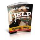 eBoek Help! Mijn kind wil een Piercing / Tattoo!