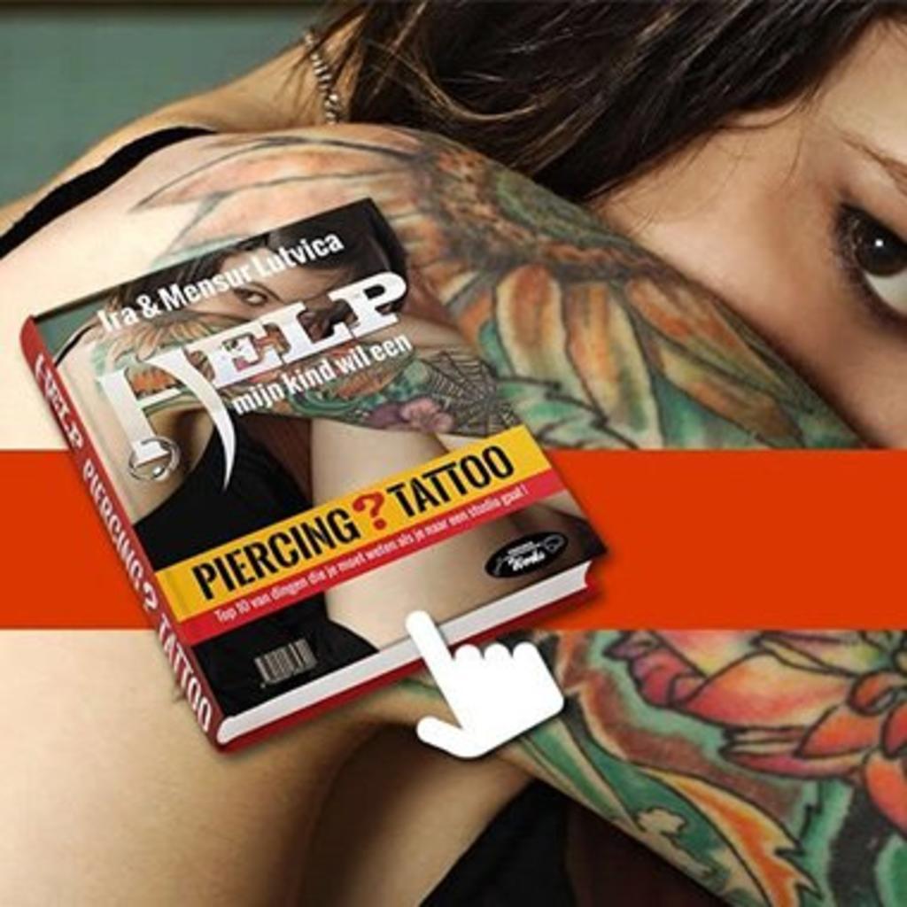 Boek Help Mijn Kind Wil Een Piercing Tattoo Piercings