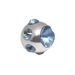 Piercing Balletje - Ingelegd Kristalletje