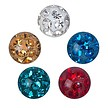 Swarovski Elements - Piercing Ball 5mm