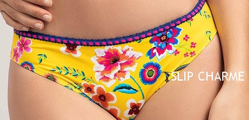 Antigel by Lise Charmel Antigel | Strapless bikini La Romanesque geel
