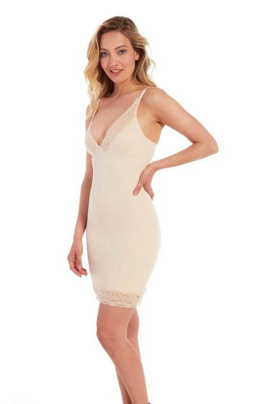 Magic Bodyfashion Magic Bodyfashion | Be Pretty Dress LATTE