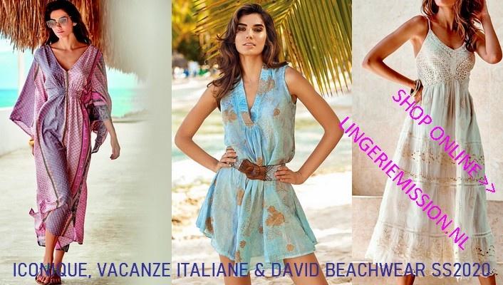 Iconique, Vacanze Italiane & David Beachwear | lingeriemission.nl
