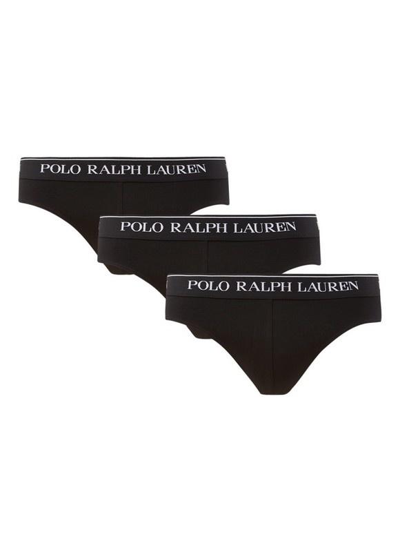 Polo Ralph Lauren  Polo Ralph Lauren | 3-pack Slips | Zwart