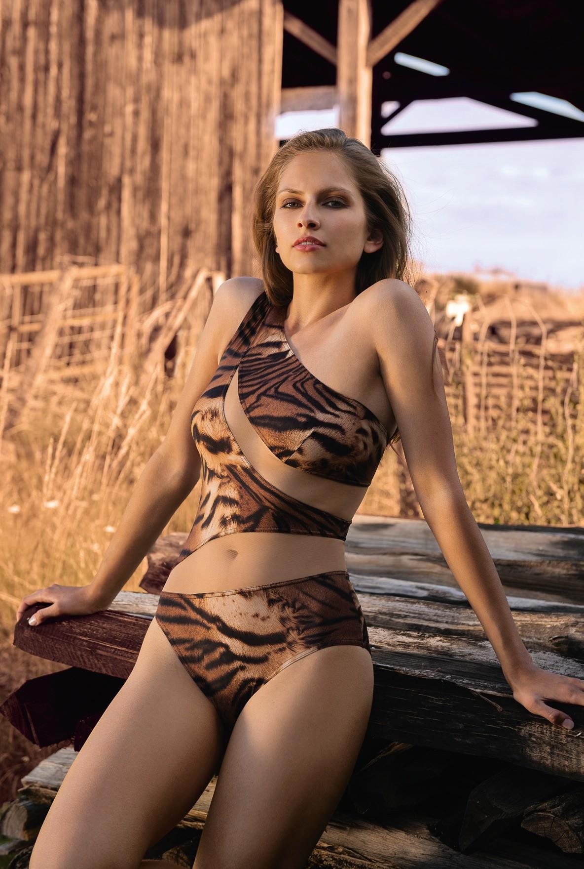Nicole Olivier Nicole Olivier | Badpak TOLEDE | Tigre | Ss2021