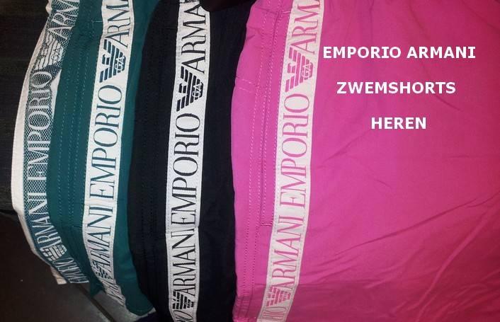Zwem Shorts Heren Emporio Armani