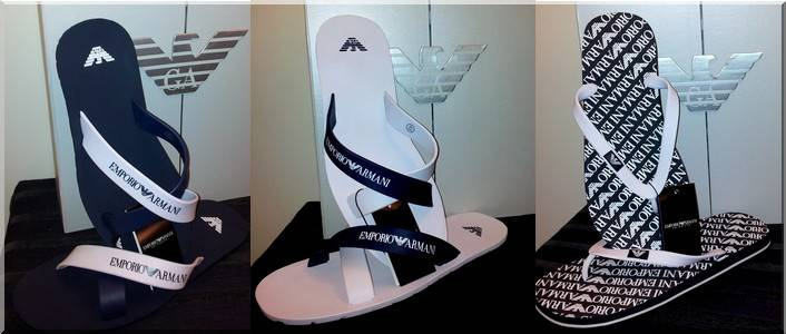 Men's Flip Flops Armani