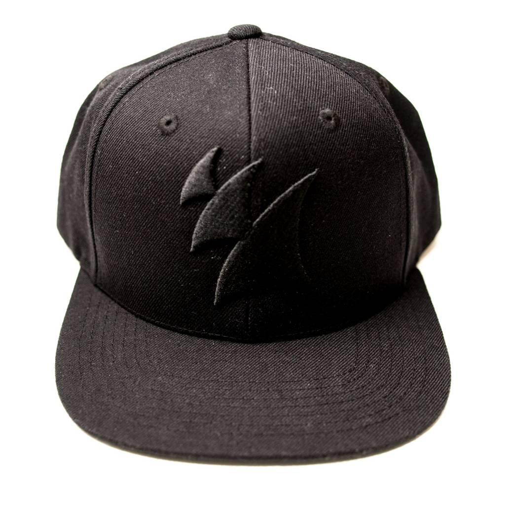 Armada Music Armada Snapback Logo Cap (Black On Black)