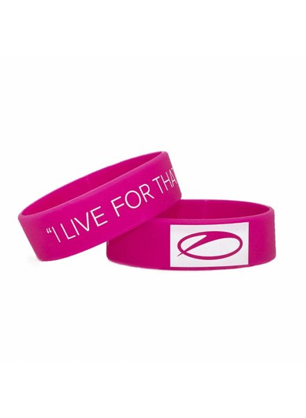 A State Of Trance A State Of Trance - Pink & White Wristband