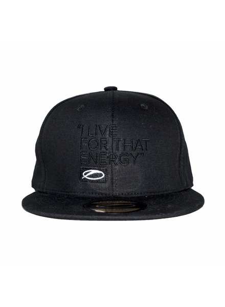 A State Of Trance A State Of Trance - I Live For That Energy - Black On Black Snapback Cap