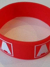 Armin van Buuren Armin van Buuren - A Logo Red Silicon Wristband