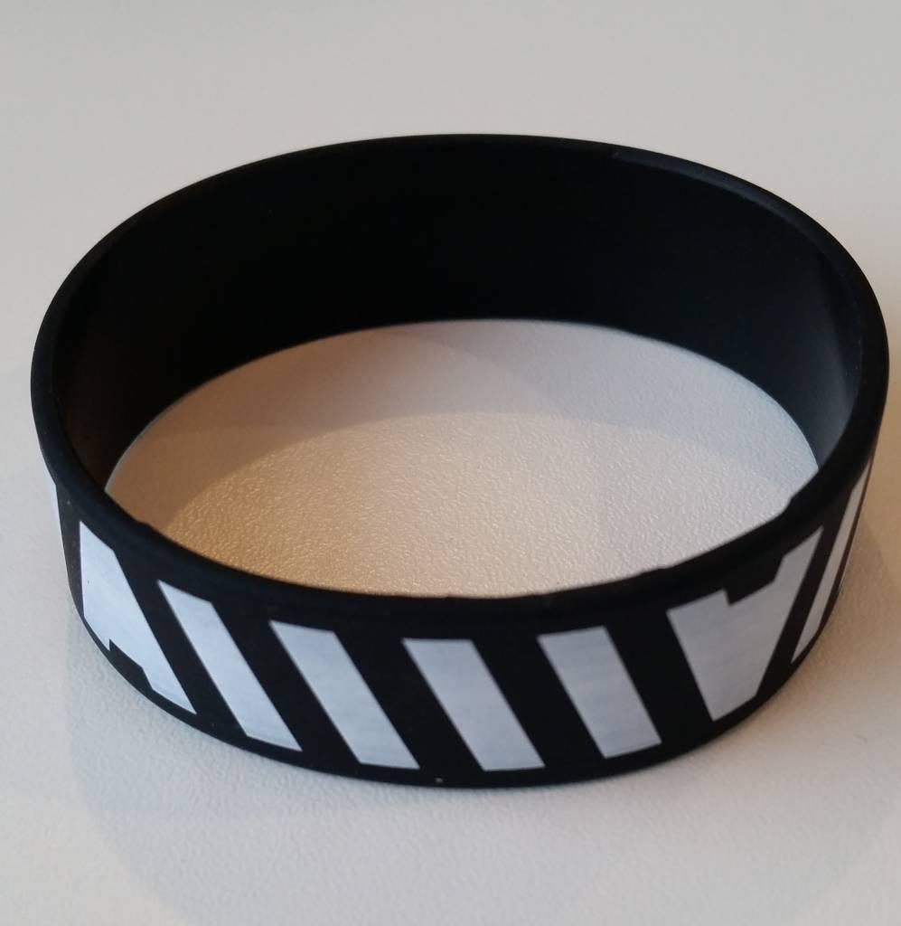 Armin van Buuren Armin van Buuren - A Zebra Black Silicon Wristband