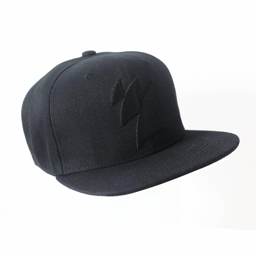 Armada Music Armada Music - Snapback Cap (Black On Black)