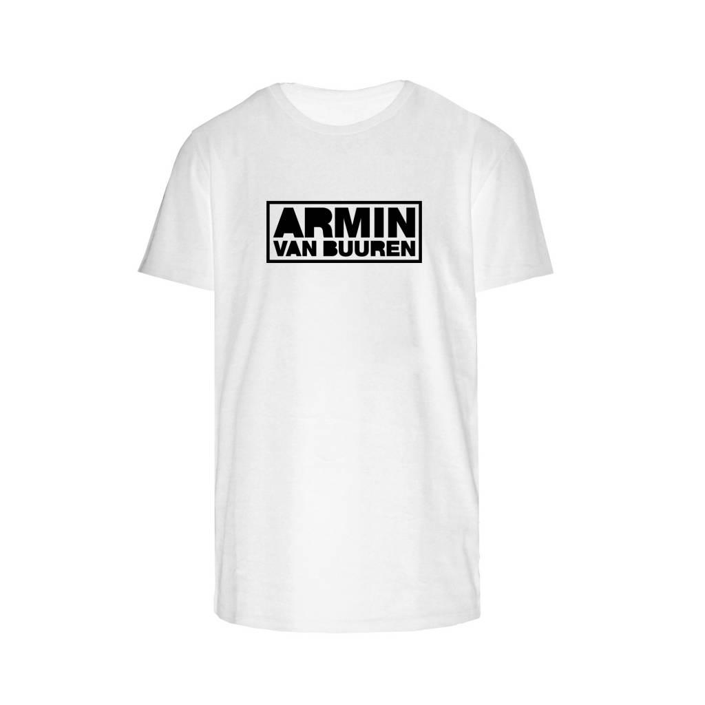 Armin van Buuren Armin van Buuren - Black Logo - White T-Shirt