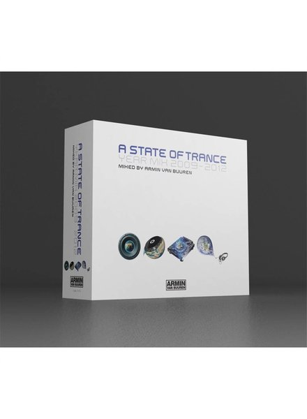 A State Of Trance Armin van Buuren - ASOT Year Mix 2009-2012