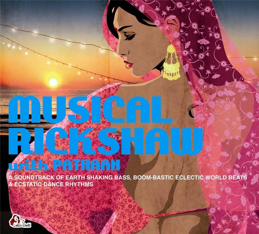 Musical Rickshaw With Pathaan