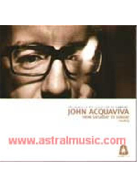 John Aquaviva - From Saturday To Sunday 3
