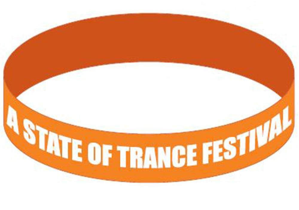 A State Of Trance A State Of Trance - Orange Wristband